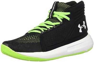 newest a77dc e44f2 Under Armour Boys  Grade School Torch Mid Basketball Shoe, Black (001)