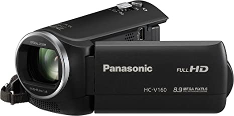 Panasonic HC-V160 - Videocámara (Mos BSI, 2,51 MP, 1/0,228 mm (1 ...
