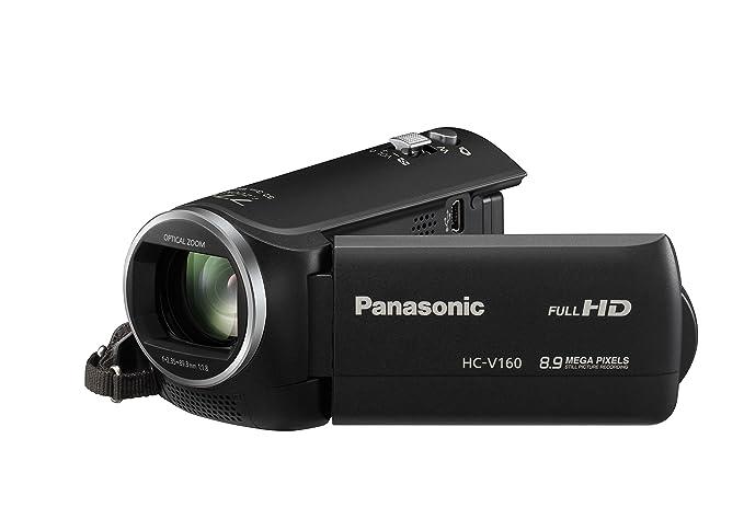 56 opinioni per Panasonic HC-V160EG-K Videocamera, Full HD, Stabilizzatore di Immagine,