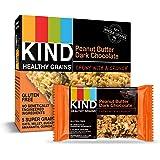 KIND Healthy Grains Bars, Peanut Butter Dark Chocolate, Gluten Free, 1.2 oz, 5 Bars (Pack of 6)