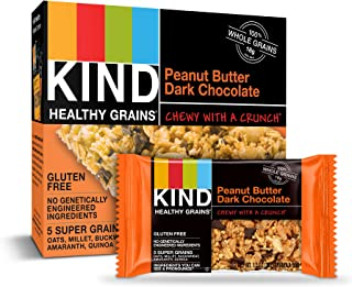 product image for KIND Healthy Grains Bars, Peanut Butter Dark Chocolate, Gluten Free, 40 Count