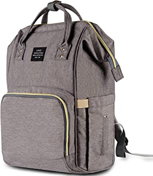 HaloVa Multi-Function Waterproof Travel Diaper Backpack