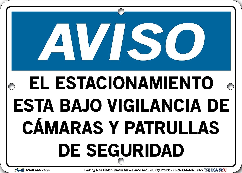 ... Surveillance and Security Patrols, EL ESTACIONAMIENTO ESTA Bajo VIGILANCIA DE CÁMARAS Y PATRULLAS DE SEGURIDAD: Amazon.com: Industrial & Scientific