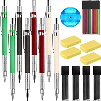 New 1 Tube 2B Black Lead Refills 2.0mm With Case For Automatic Mechanical Pencil