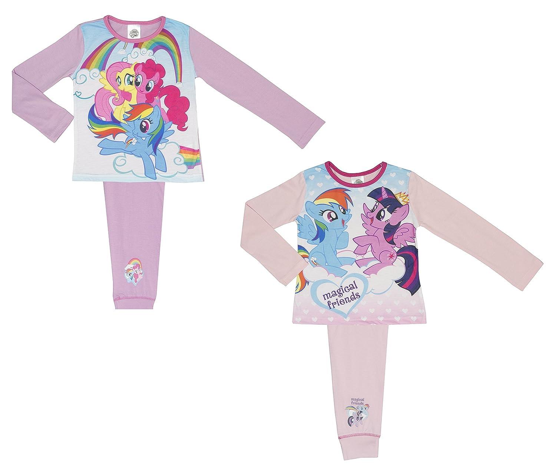 bf1b212b647c 2 Pack My Little Pony Girls Pyjamas - 4-10 Years  Amazon.co.uk  Clothing