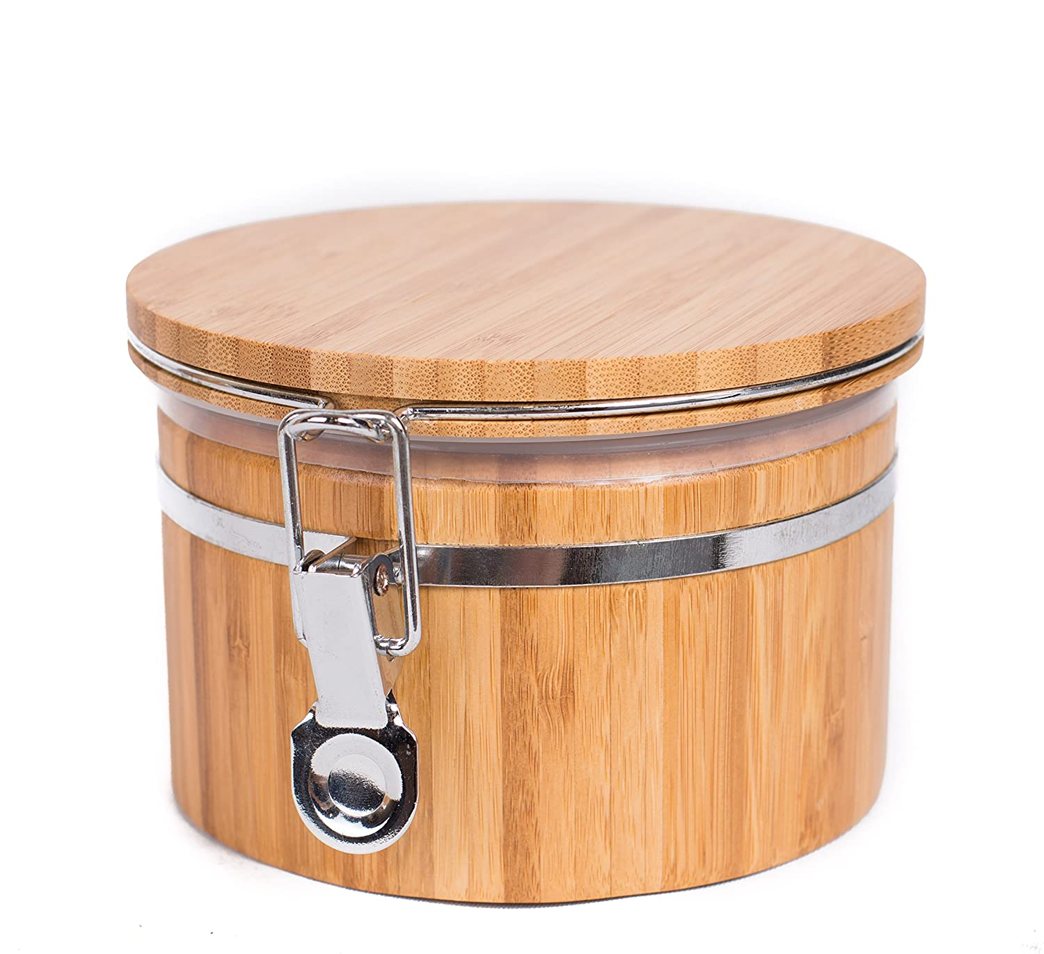 BirdRock Home Bamboo Food Storage Canister with Lid | Small 8004