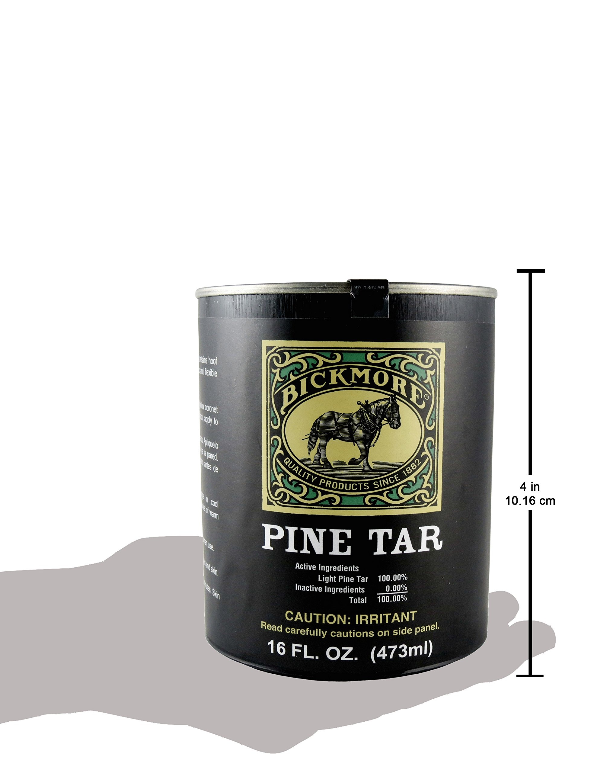 Bickmore Pine Tar 16oz - Hoof Care Formula For Horses by Bickmore (Image #4)