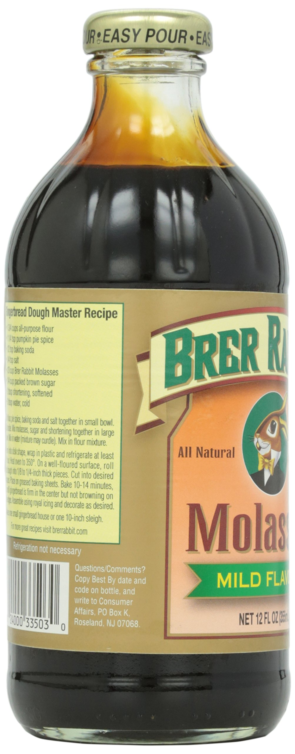 Mild Molasses Brer Rabbit 12 oz