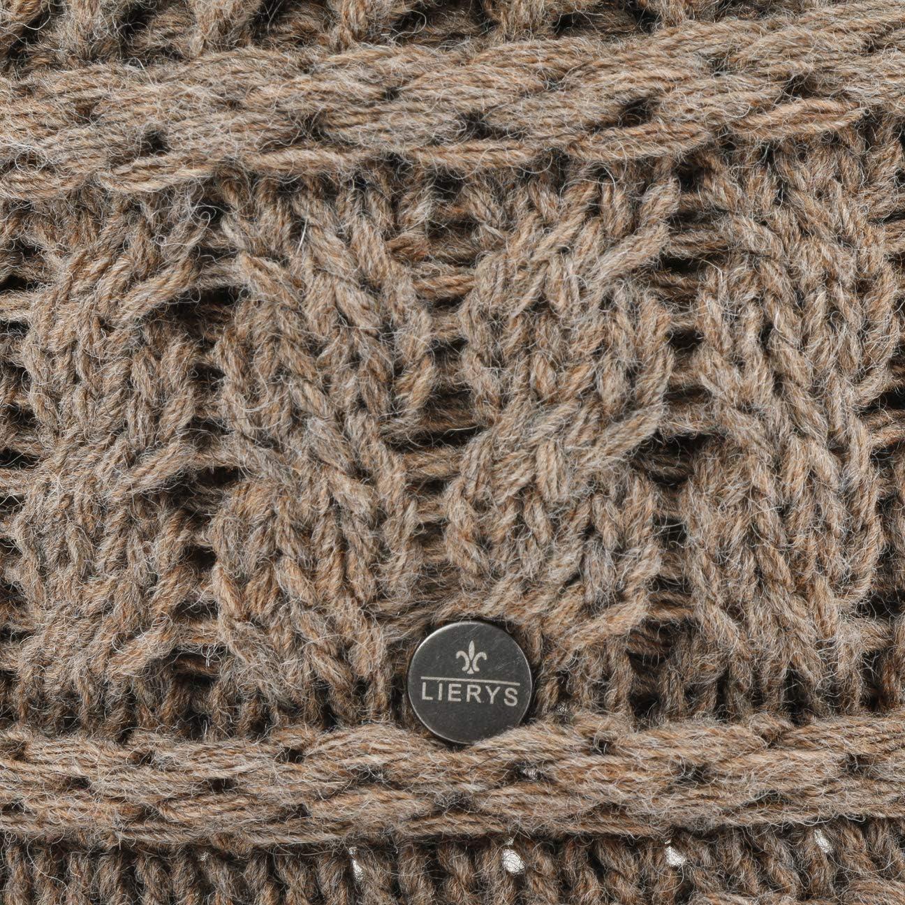 Lierys Binetta Wollhut mit Kaschmir Damenhut Glockenhut Wollglocke Damenglocke Damen Made in Italy Ripsband Ripsband Herbst-Winter
