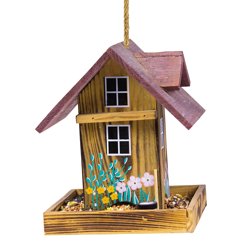 gazebo amazon com garden wooden lb perky bird capacity pet dp feeder feeders outdoor wood