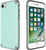 iPhone 6/6s/7/8 Case, CellEver Slim Guard Pro Protective Shock-Absorbing Scratch-Resistant Drop Protection Cover for Apple iPhone 6/6s/7/8 (Mint/Gray)