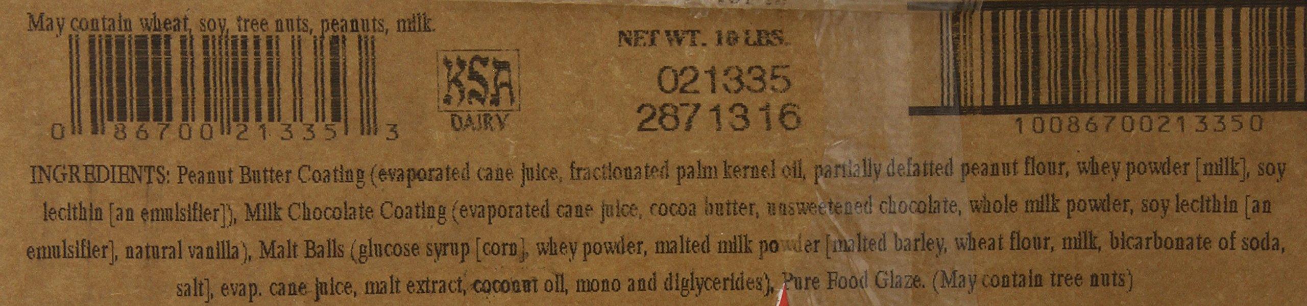 Sunridge Farms Candy, Peanut Butter Chocolate Malt Balls, 10 Pound by SunRidge Farms