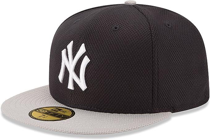 NEW ERA 39THIRTY DIAMOND ERA FITTED CAP LEAGUE LOGO NEW YORK YANKEES NAVY