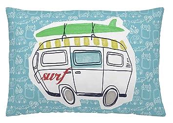 Dormir Happy Saco Nórdico con Relleno Ref.Cars Surf Azul, para Cama de 90 cm.: Amazon.es: Hogar