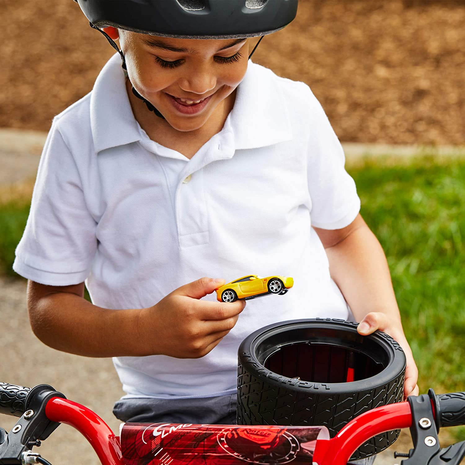 Huffy Disney Cars Boys Bike with Lights /& Sounds Toy Training Wheels