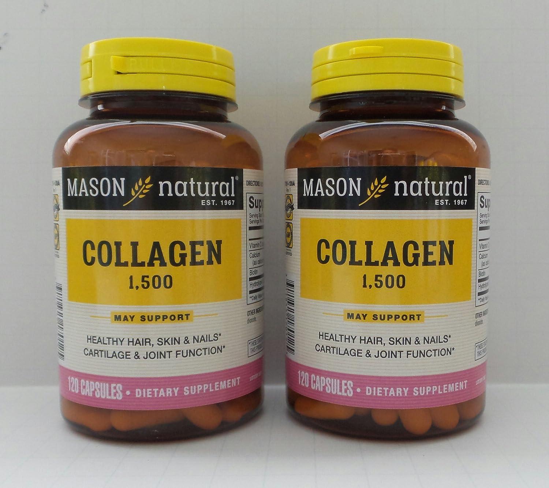Amazon.com: 2 unidades 240 Cápsulas hydrolysate de colágeno ...