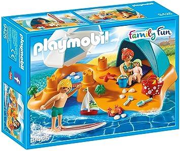 Playmobil Familia en la Playa Juguete geobra Brandstätter 9425: Playmobil: Amazon.es: Juguetes y juegos