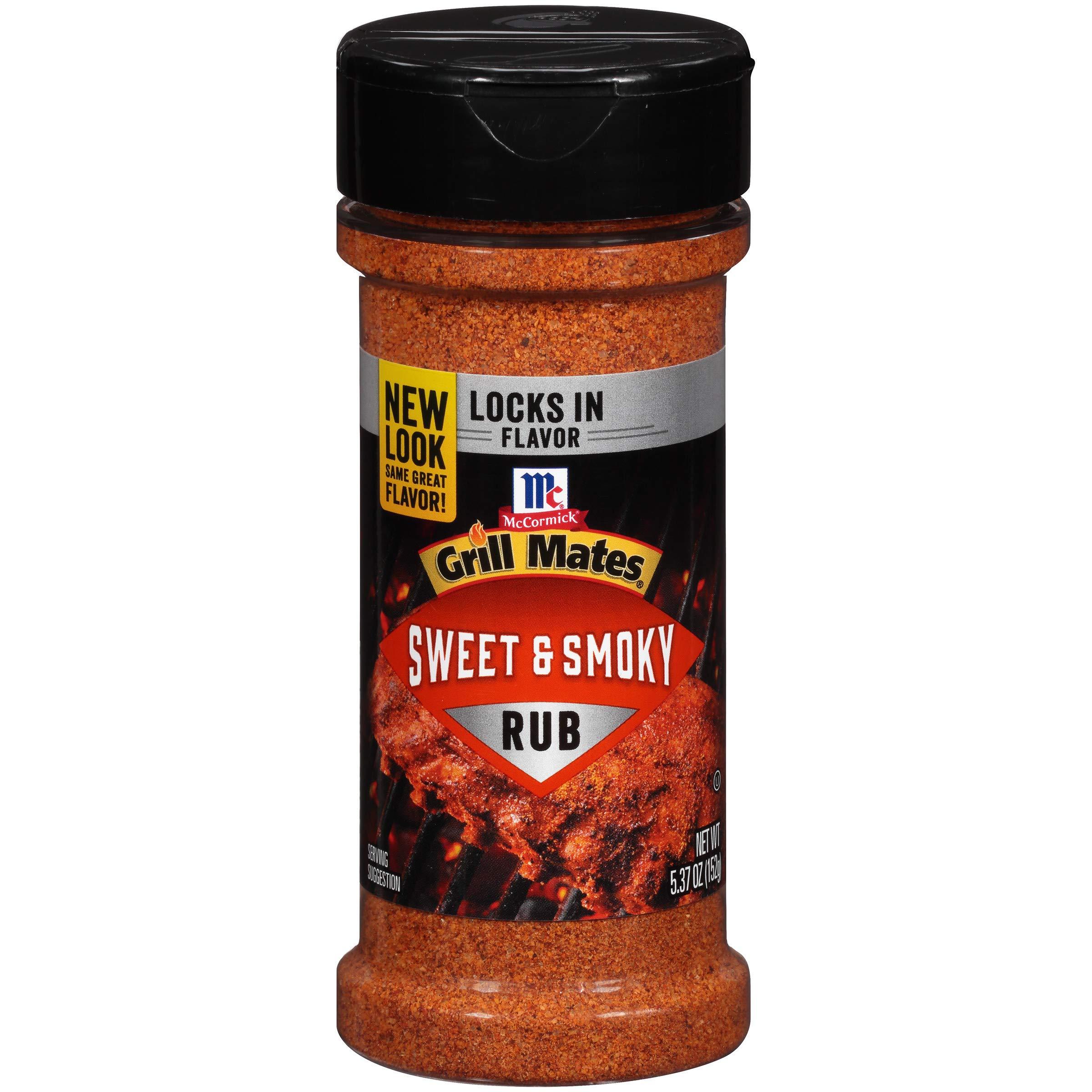 McCormick Grill Mates Sweet & Smoky Dry Rub, 5.37 OZ