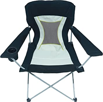 HOMECALL Camping Chair, Foldable, Armrest with Cupholder Chair Outdoor