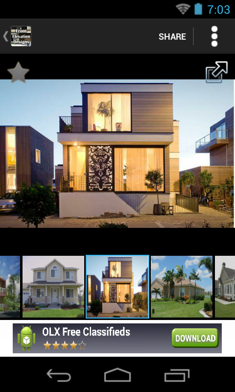 Front Elevation Images Download : Amazon front elevation designs houses appstore for