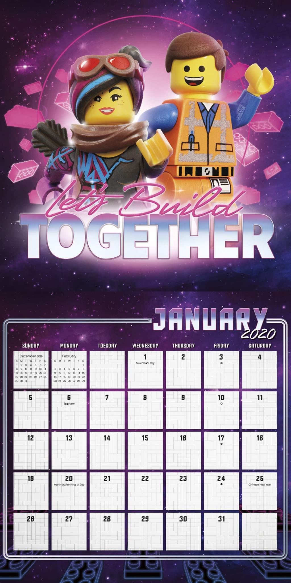 Lego January 2021 Calendar