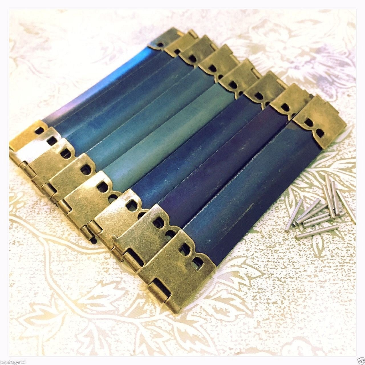 WellieSTR 30 Pieces Pack 12cm Metal Internal Flex Frames Kiss Clasp Bag Coin Purse Sewing Wholesale ...