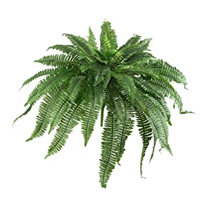 "Nearly Natural 6051-S2 48"" Boston Fern (Set of 2), 2 Piece"