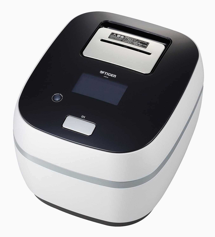 タイガー 炊飯器 土鍋圧力IH 「THE 炊きたて」 フロストホワイト 5.5合 JPX-A101-WF B00YC2GNE4