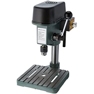 Gino Development 01-0822 0-8500 rpm TruePower Precision Mini Drill Press with 3 Range Variable Speed Control, 1/4