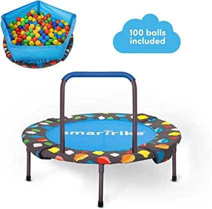 smarTrike Activity Center - Top Pick Best Trampoline for Toddlers