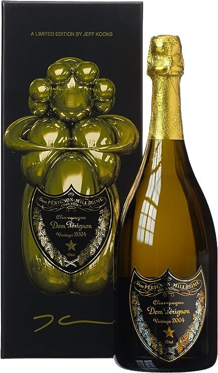 Moet et Chandom - Vino Espumoso Dom Perignon 2004 Estuche Koons 0,70 L.: Amazon.es: Alimentación y bebidas
