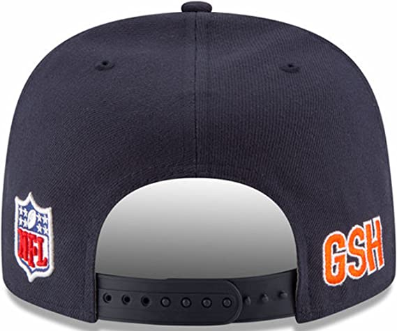 better fashion style save off Amazon.com : Chicago Bears 2016 Sideline Snapback B Logo Official ...