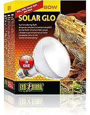 Exo terra Solar Glo Ampoule Simulant Lumière du Soleil pour Reptile 80 W