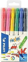 PILOT FriXion Colors - 6er Set