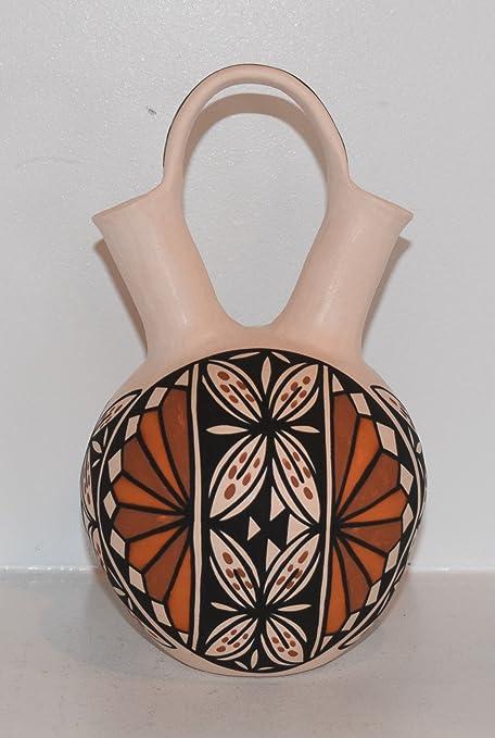 Amazon Traditional Hand Coiled Acoma Pueblo Wedding Vase
