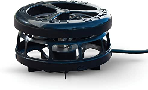 Amazon Com K H Pet Products 100213385 Thermo Perfect Climate Deluxe Pond Deicer 250 Watts Black Aquarium Heaters Garden Outdoor