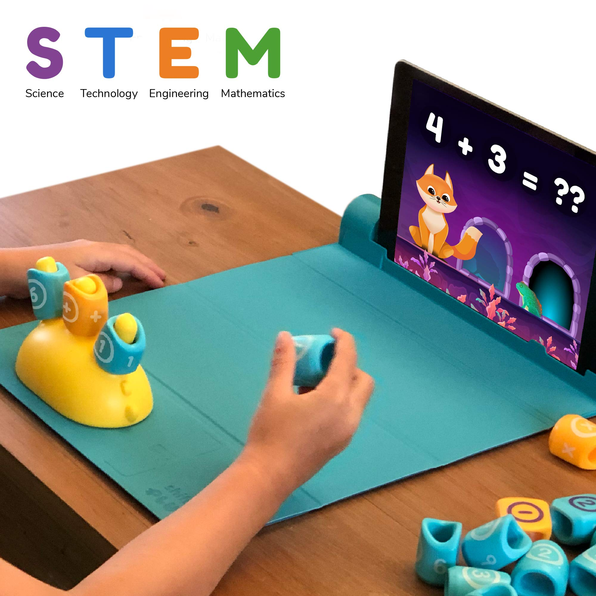 Shifu Plugo Count - Math Game with Stories & Puzzles - Ages 5-10 - STEM Toy (iOS/ Samsung Devices) | Augmented Reality Based Cool Math Games for Boys and Girls by Shifu