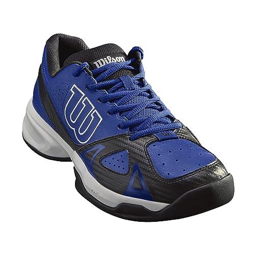 brand new c9272 06aeb WILSON Scarpe da Tennis da Uomo, Ideali per Giocatori di Tutti i Livelli,  per