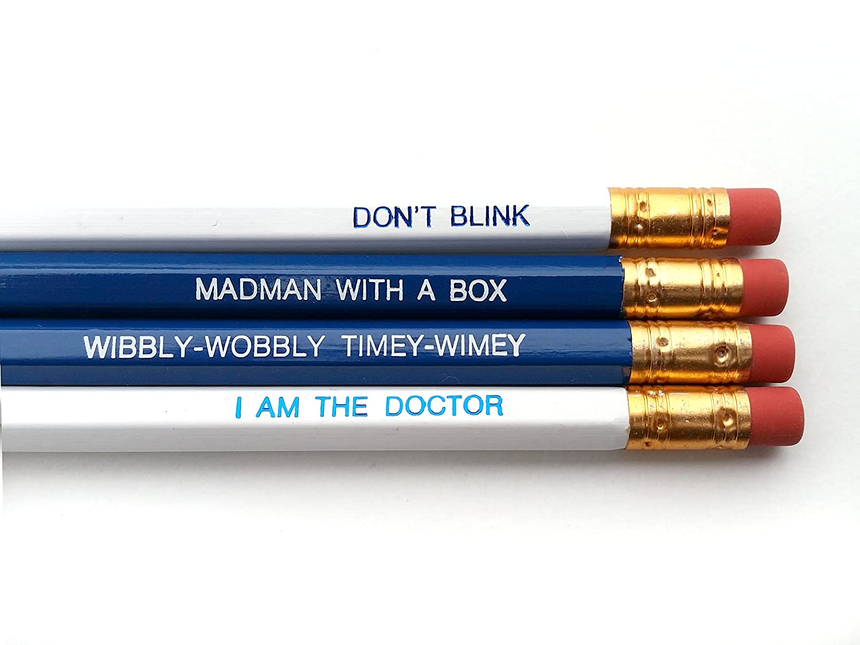Dr. Who, Tardis Colored Inspirational Pencils