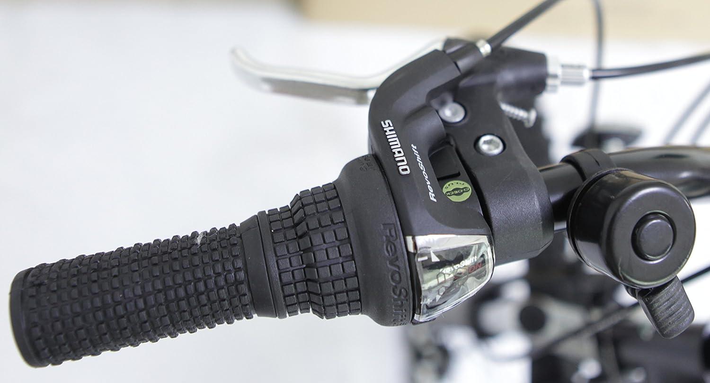 Ecosmo - Bicicleta plegable 21SP Shimano-26SF02BL de 66,04 cm con bolsa para su transporte.: Amazon.es: Deportes y aire libre