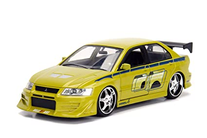 Jada Toys Fast U0026 Furious Brianu0027s Mitsubishi Lancer Evolution VII Metals  Die Cast Collectible Toy