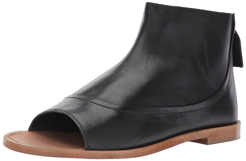 Kelsi Dagger Brooklyn Women's Carter Flat Sandal B01MR6Q78H 7.5 B(M) US|Black