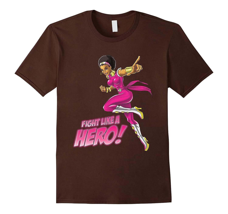 Fight Like A Hero Tee-T-Shirt