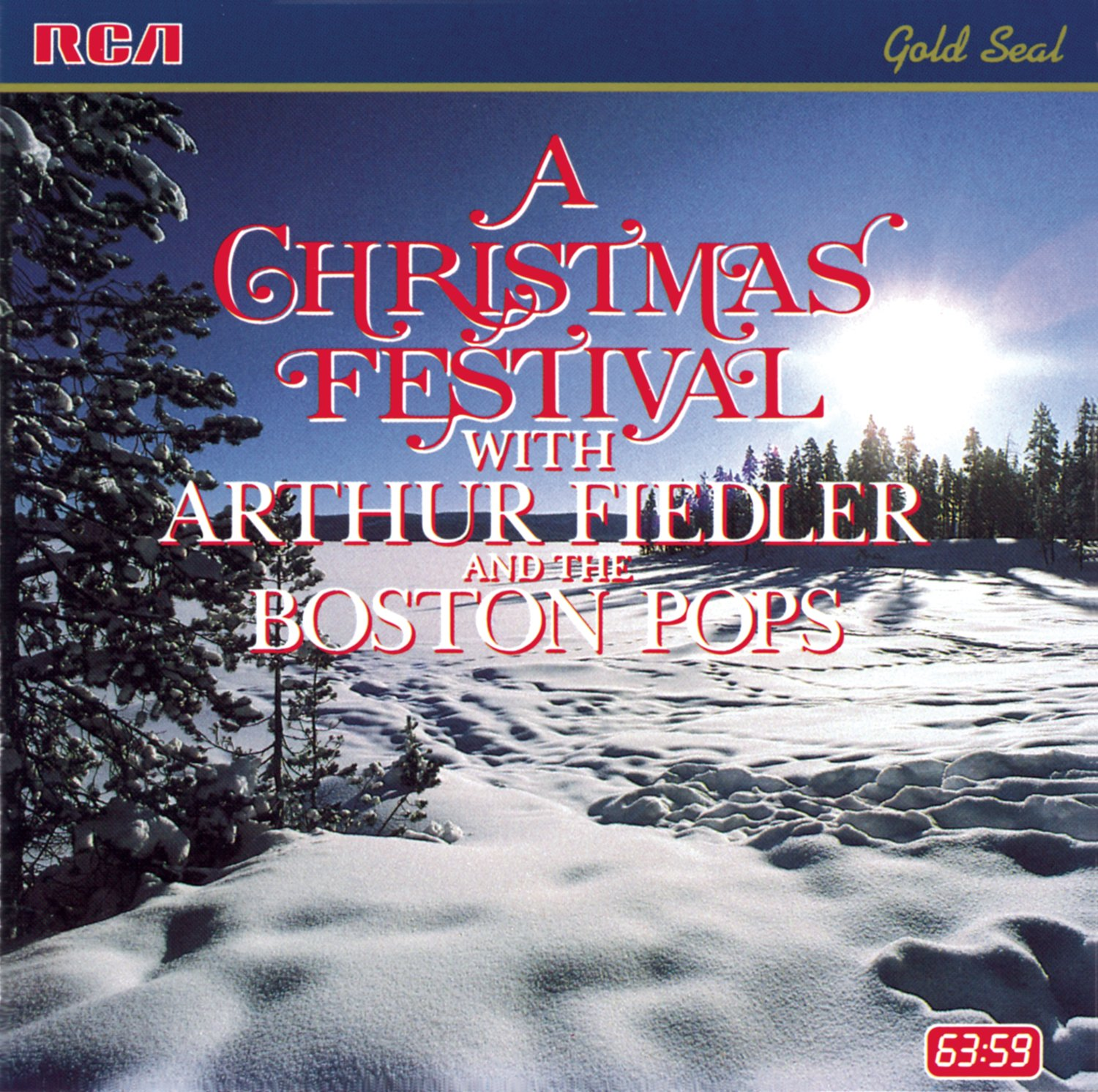 Boston Christmas Festival.A Christmas Festival With Arthur Fiedler And The Boston Pops