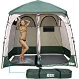 EasyGo Product EGP-TENT-016 Shower Shelter – Giant Portable Outdoor Pop UP Camping Shower Tent Enclosure – Changing Room – 2