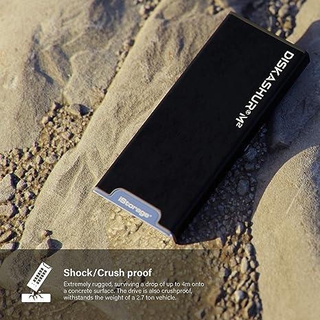 Istorage Diskashur M2 120 Gb Pin Authentifiziert Computer Zubehör