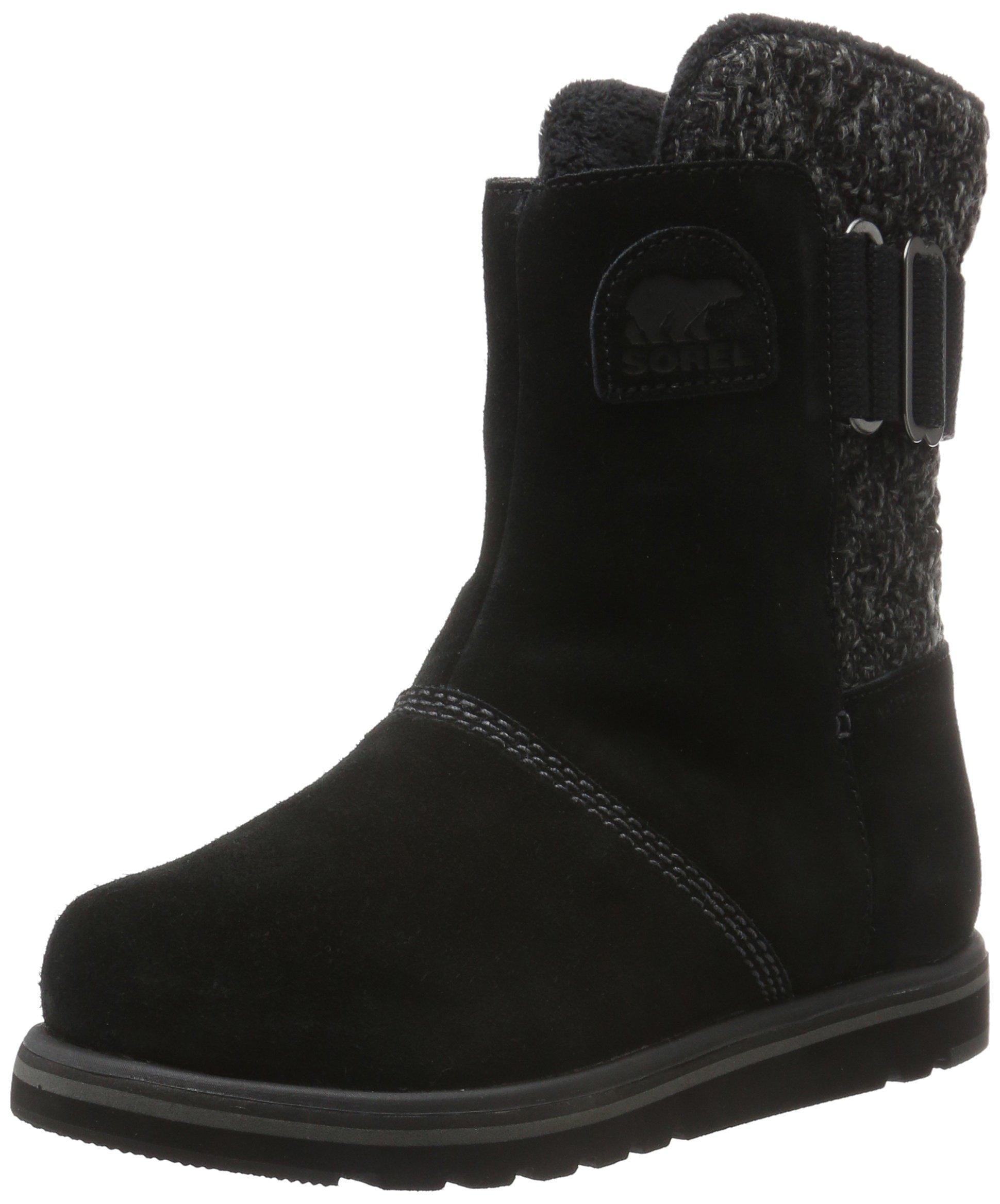 Sorel Women's Rylee Snow Boot, Black, 7.5 B US