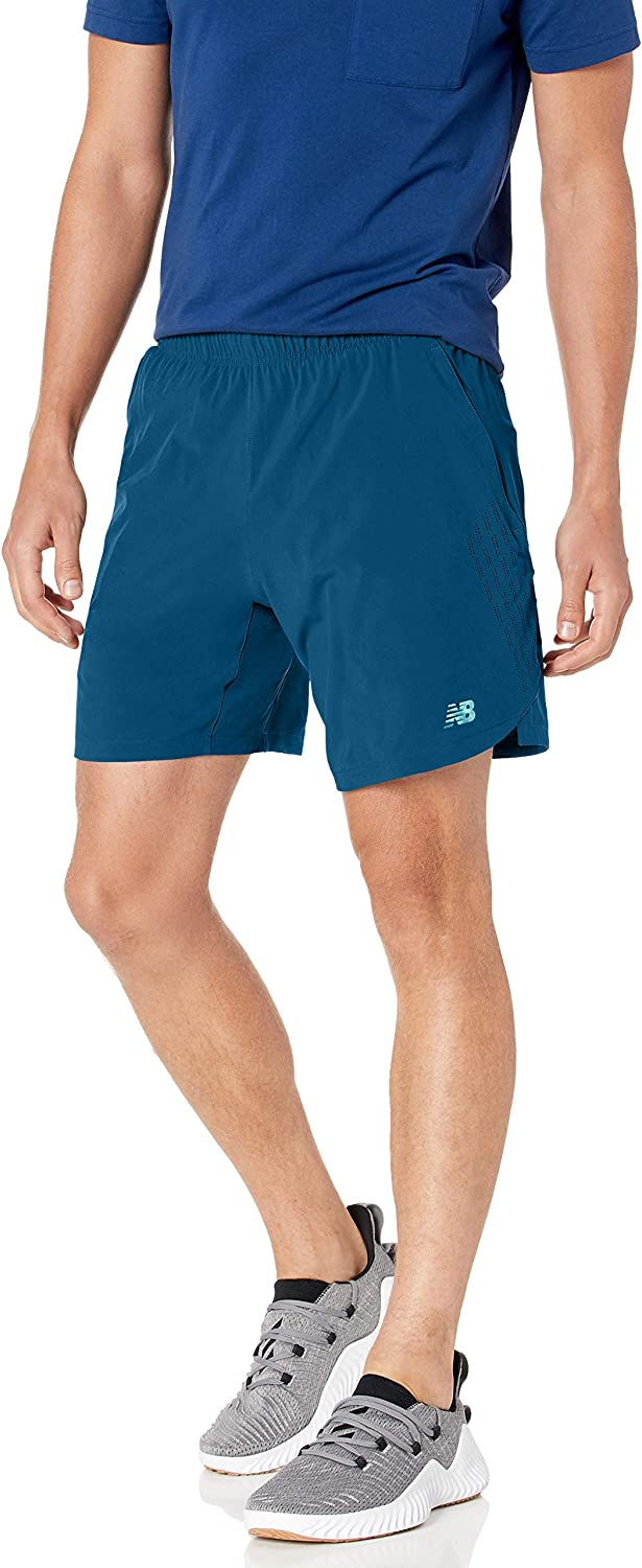 New Balance Men's Fortitech 2 in 1 Short: Clothing