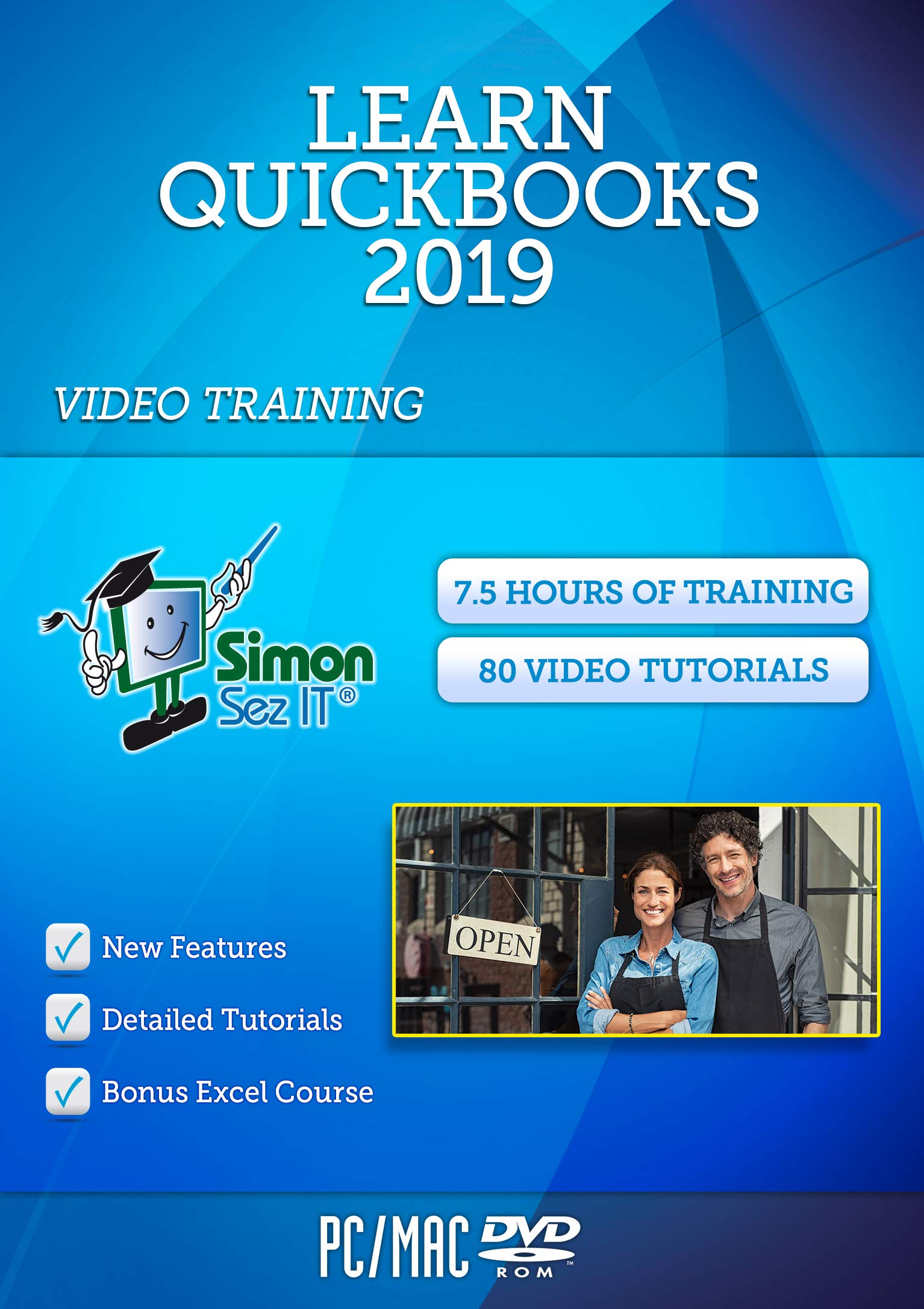 Master QuickBooks® 2019 Training Course by Simon Sez IT by Simon Sez IT