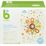 Babyganics Unscented Baby Wipes, Plant-Derived and Non-Allergenic Wipes Perfect for Faces, Hands, and Baby's Body, Fragrance